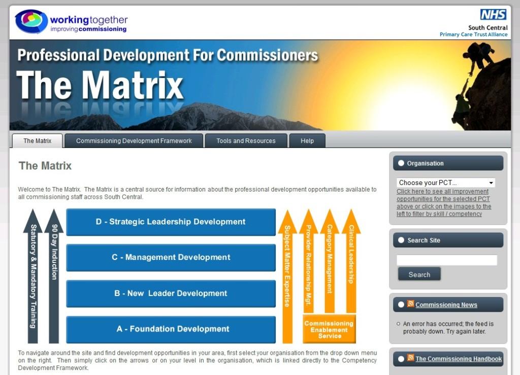 NHS Personal Development Portal